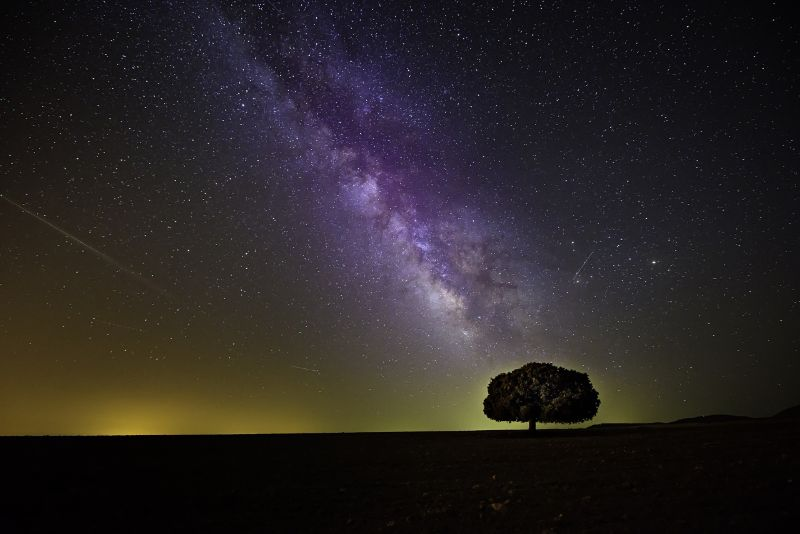 Gallery sample - Milky Way landscape